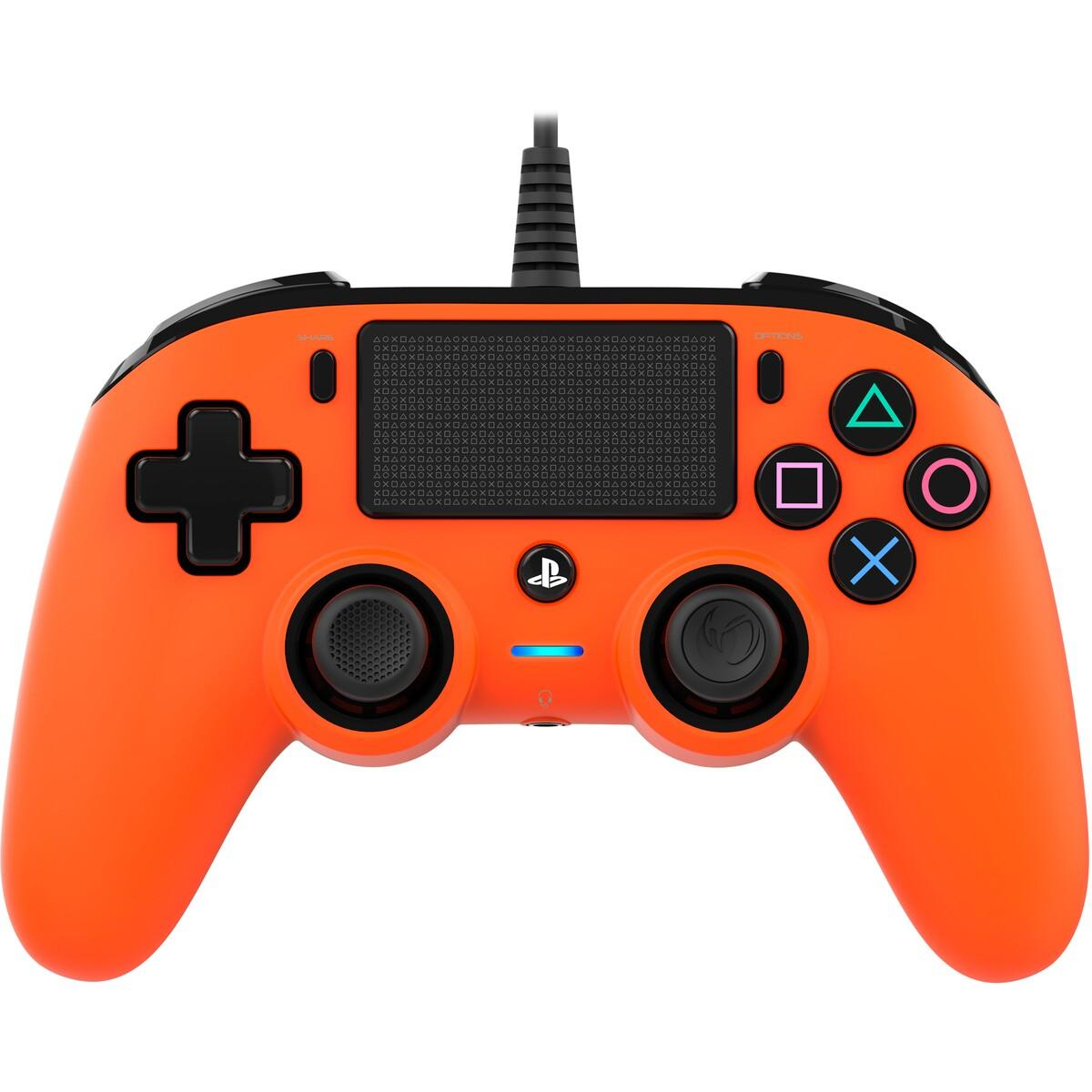 Nacon Gaming PS4 Wired Compact Controller – Orange