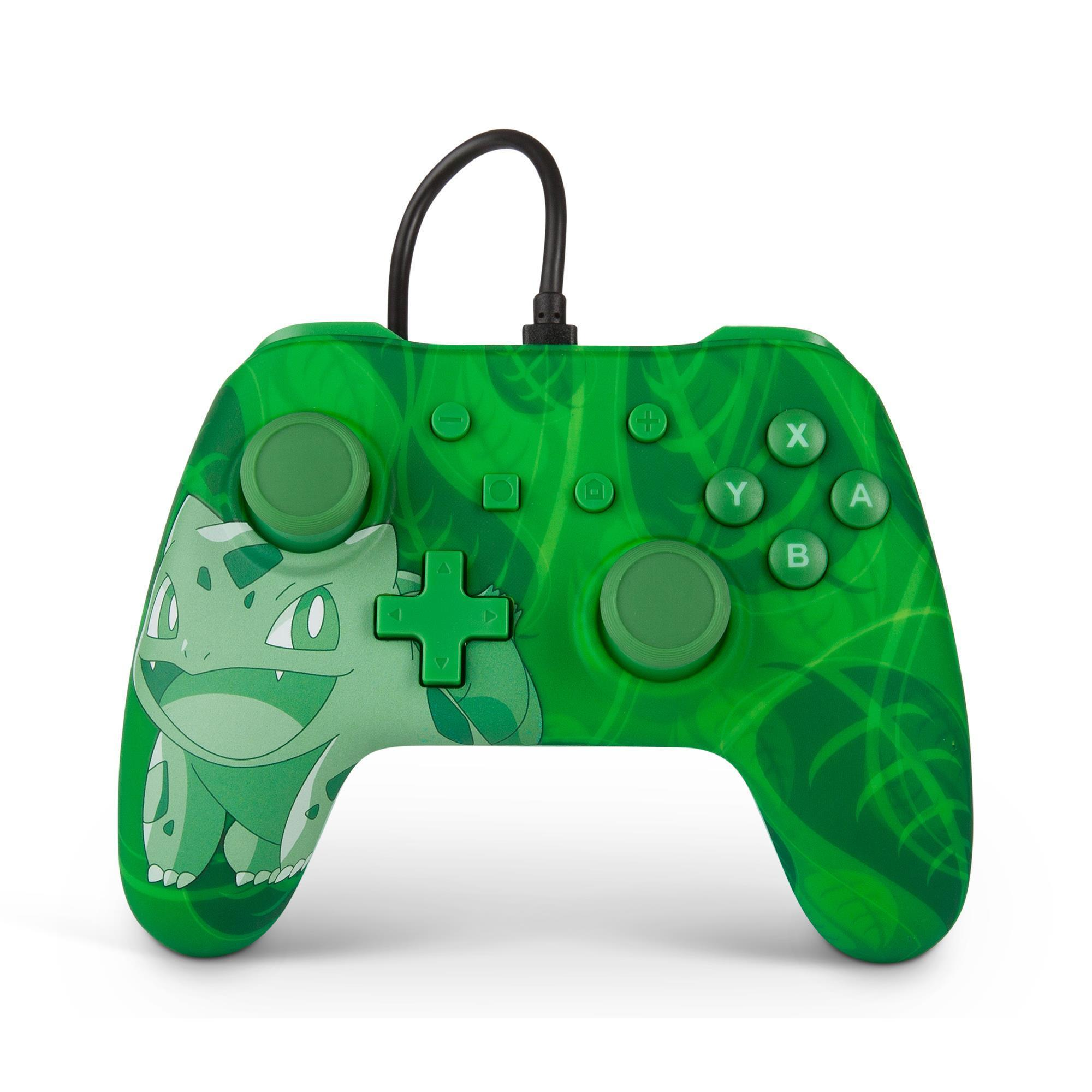 PowerA Pokémon Wired Controller for Nintendo Switch (Bulbasaur Overgrow)
