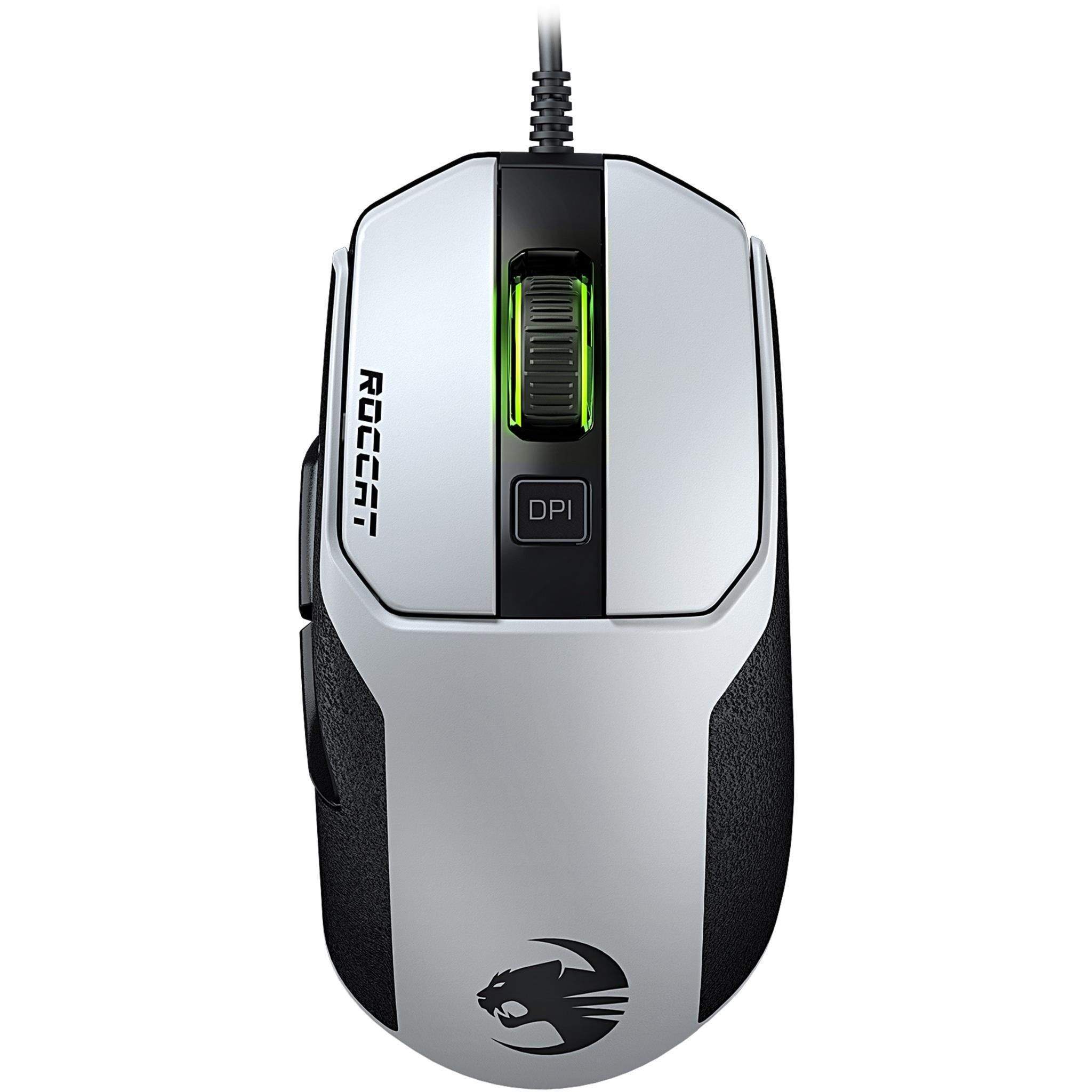 ROCCAT Kain 102 AIMO RGB Gaming Mouse (White)
