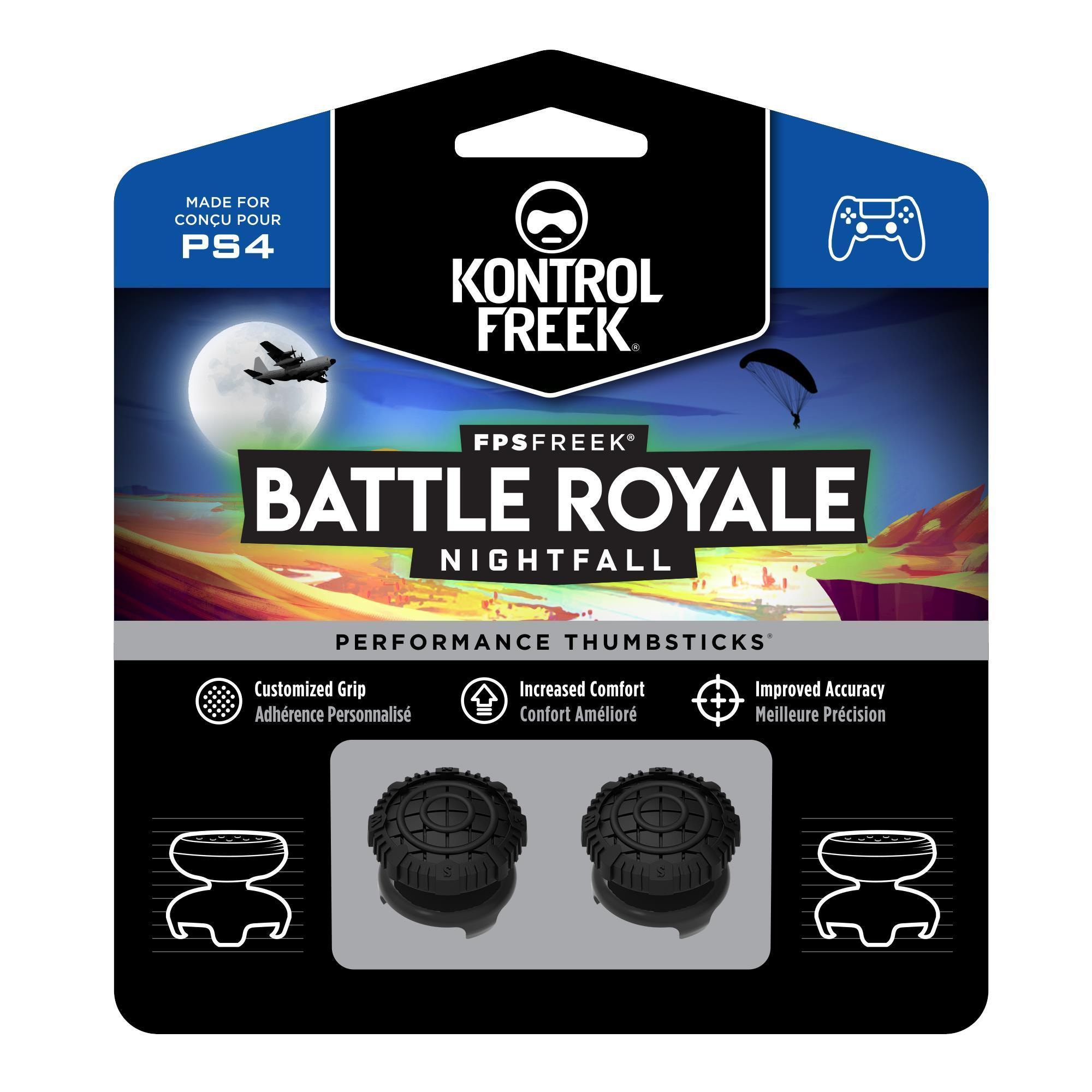KontrolFreek FPS Freek Battle Royale Performance Thumbsticks for PS4