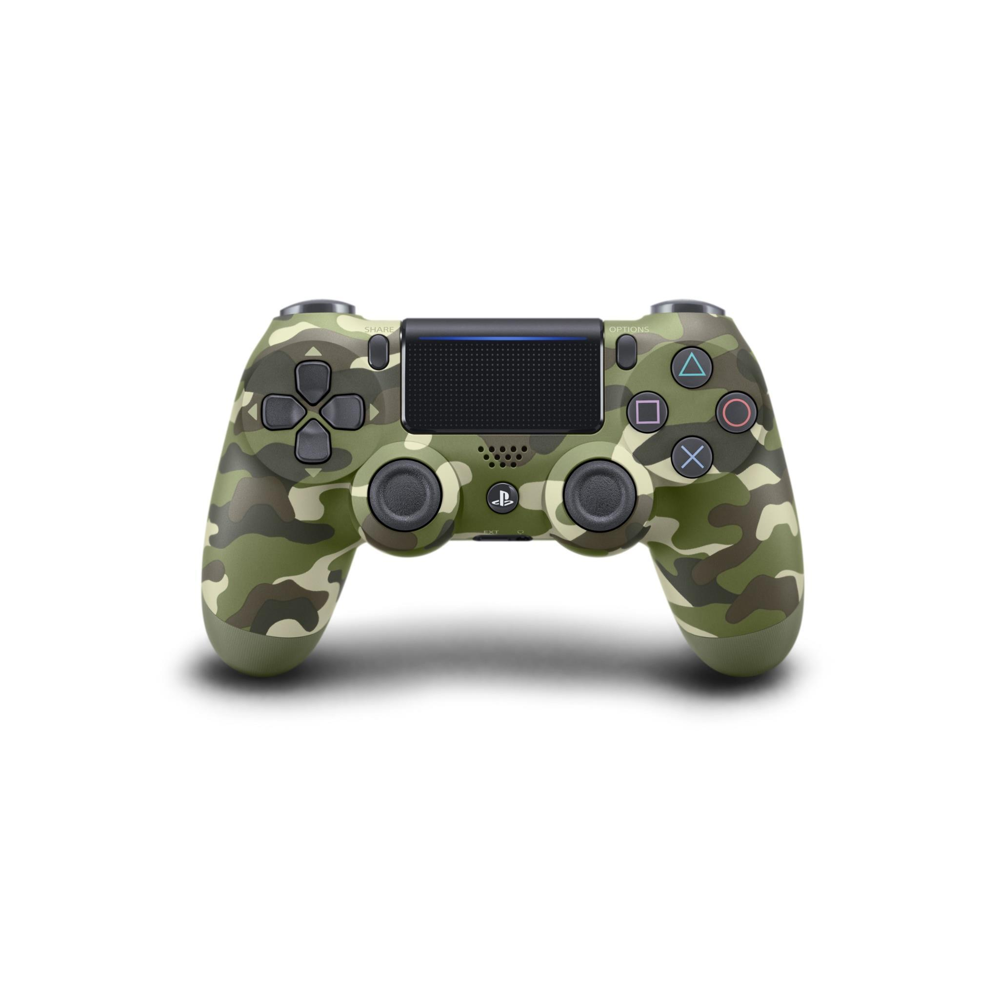 PS4 Playstation 4 Dualshock 4 Wireless Controller Green Camo