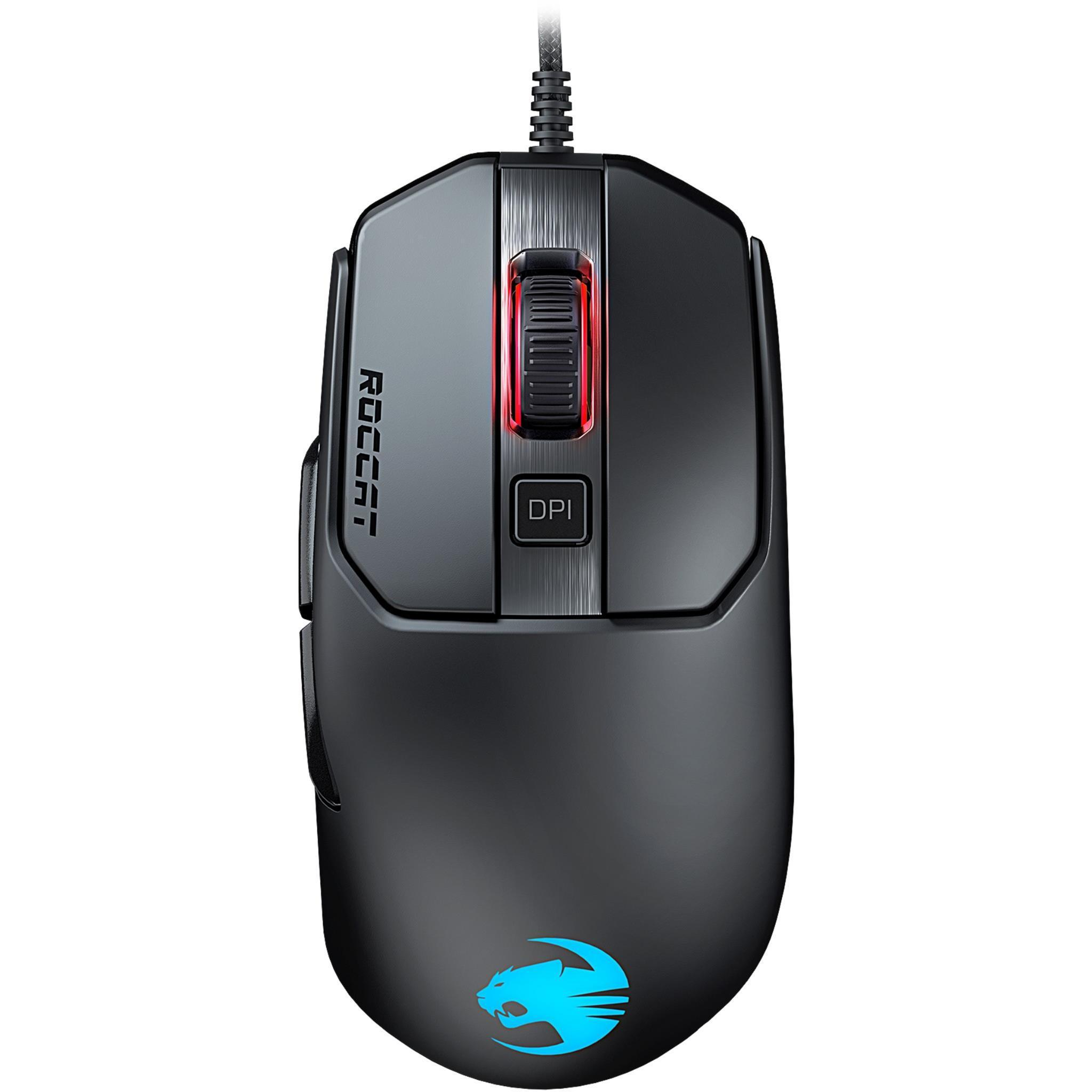 ROCCAT Kain 120 AIMO RGB Gaming Mouse (Black)