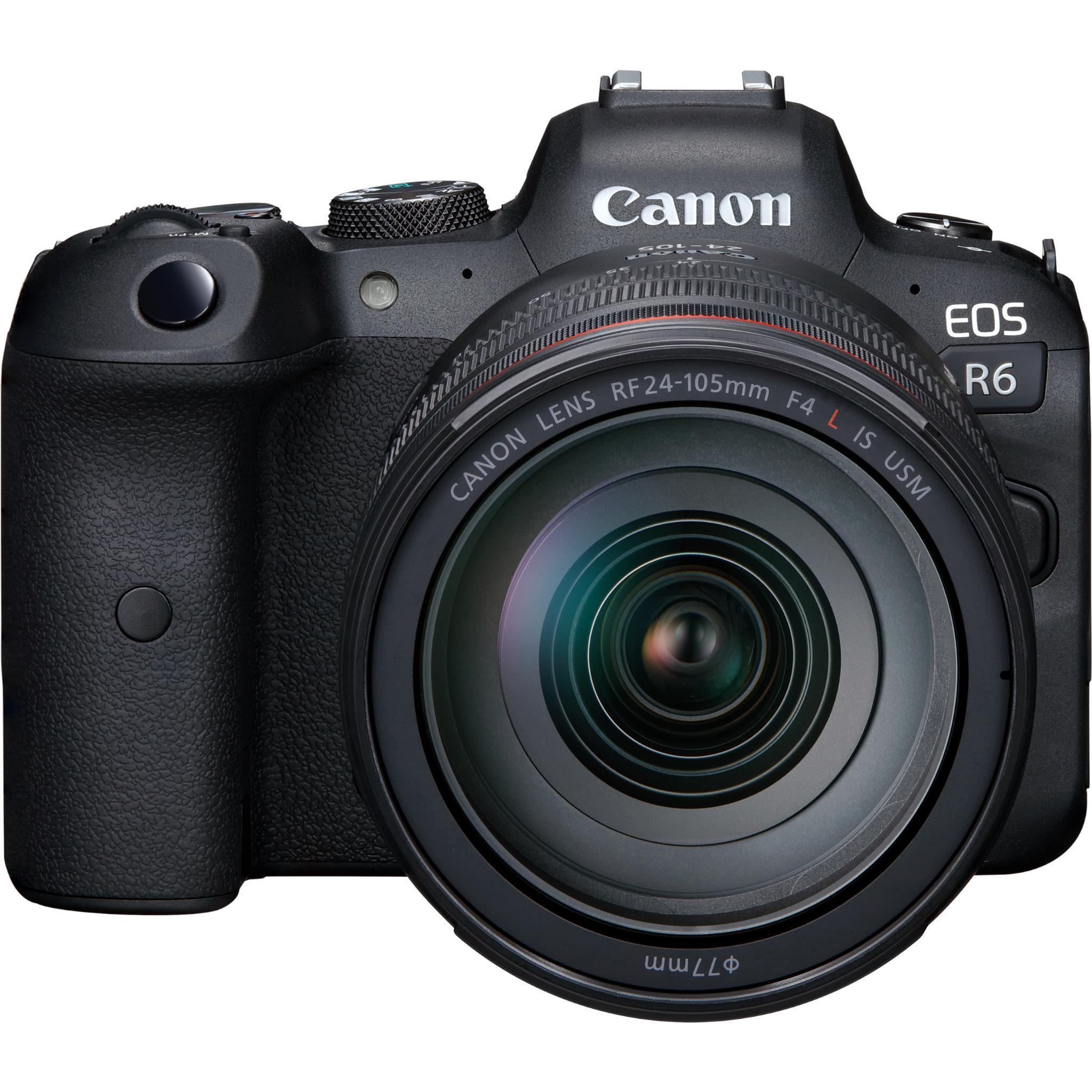 Canon EOS R6 Mirrorless Camera with RF 24-105 f/4-7.1 IS STM Lens