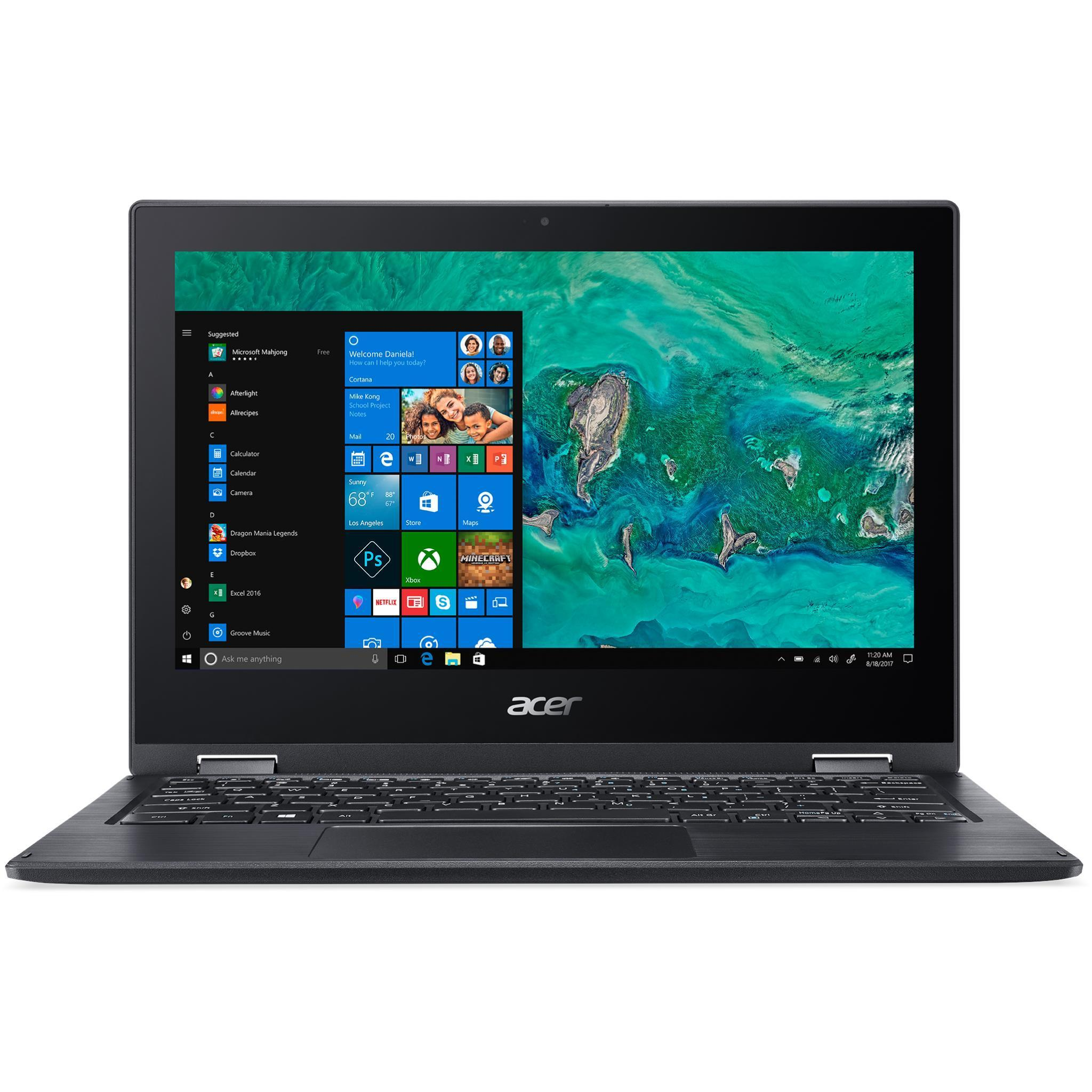 Acer Spin 1 SP111-33-C3YD 11.6″ 2-in-1 Touchscreen Laptop (64GB)