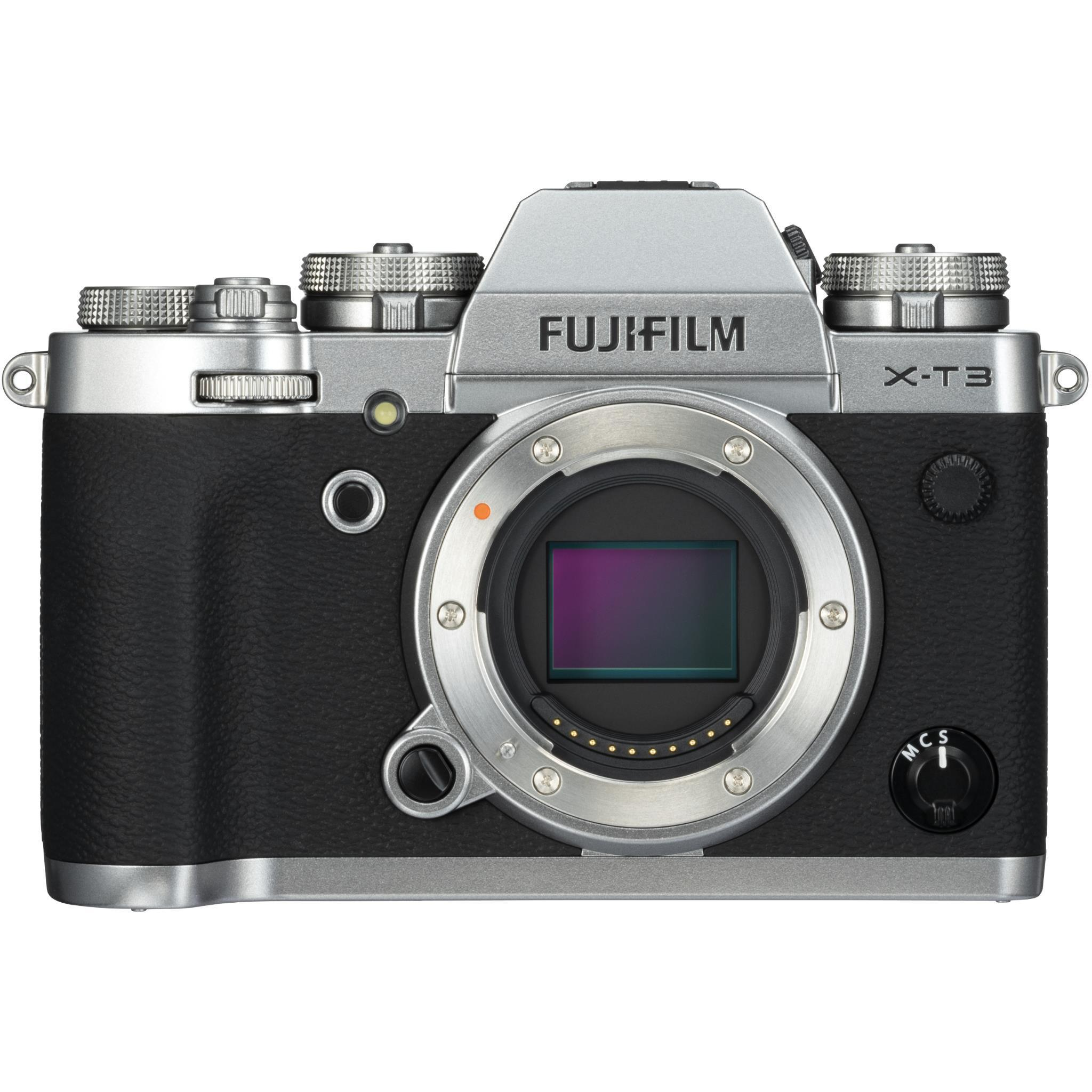 Fujifilm X-T3 Mirrorless Camera [Body Only] (Silver)