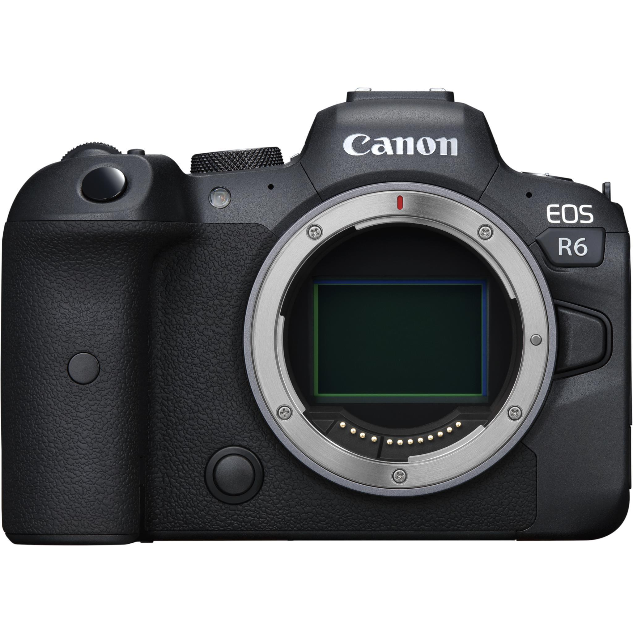Canon EOS R6 Mirrorless Camera [Body Only]
