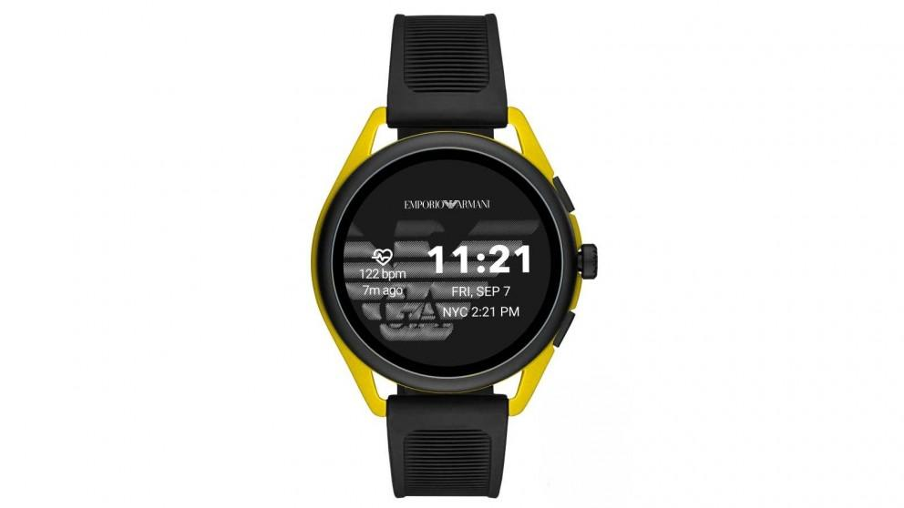 Emporio Armani Connected Matteo Mens Smartwatch – Yellow Gold
