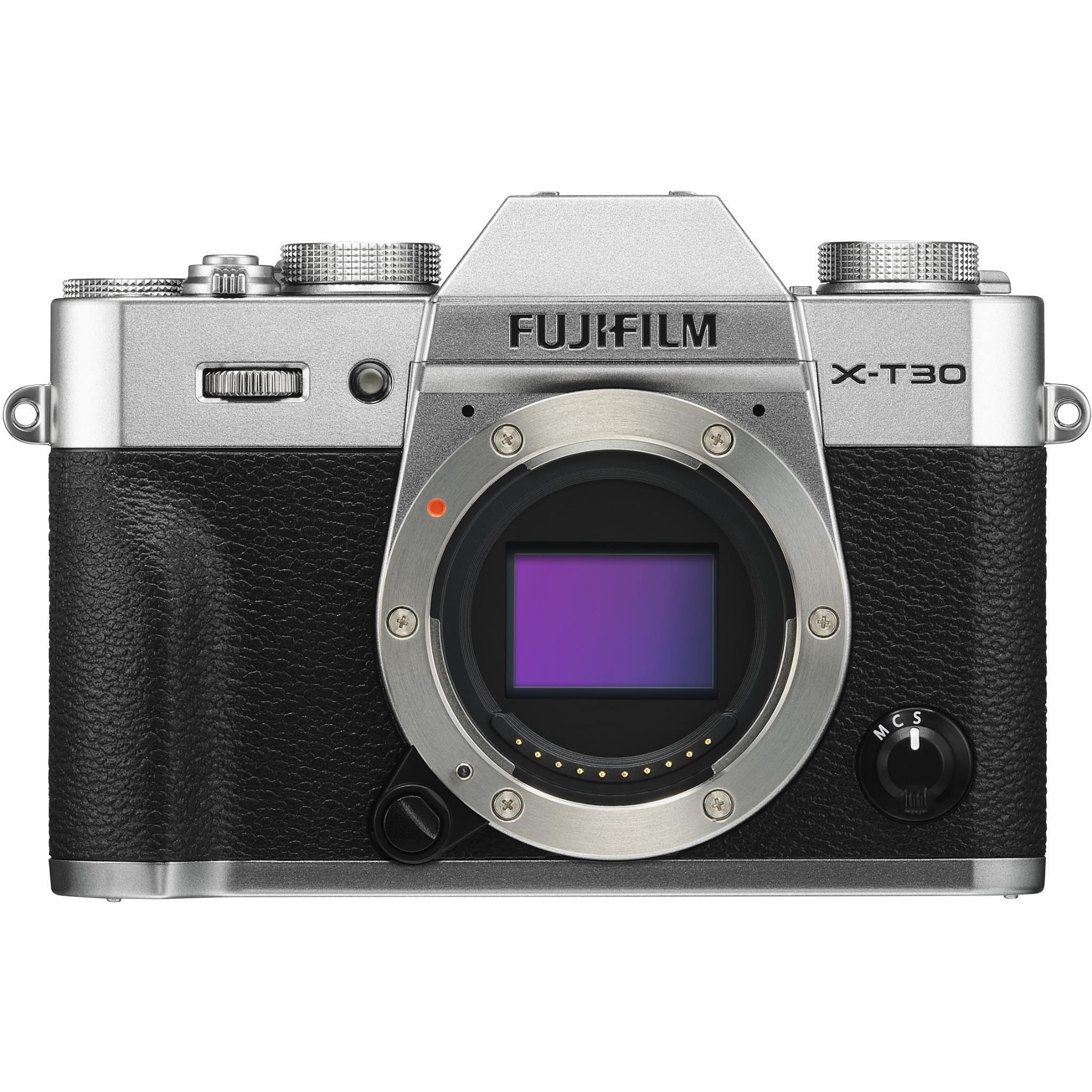 Fujifilm X-T30 Mirrorless Camera [Body Only] (Silver)