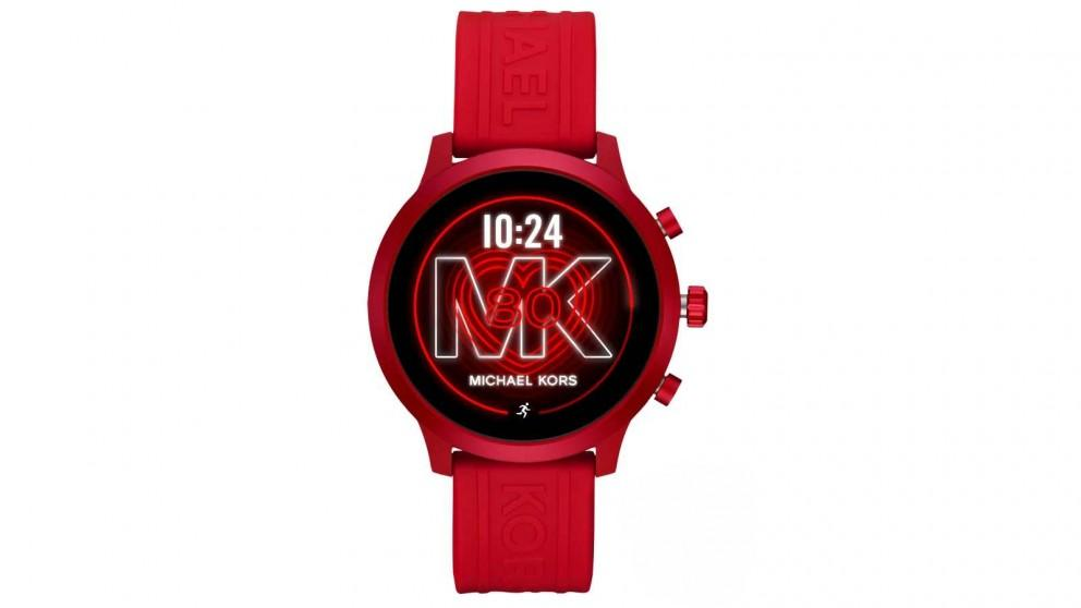 Michael Kors Access MKGO Silicone Smartwatch – Red