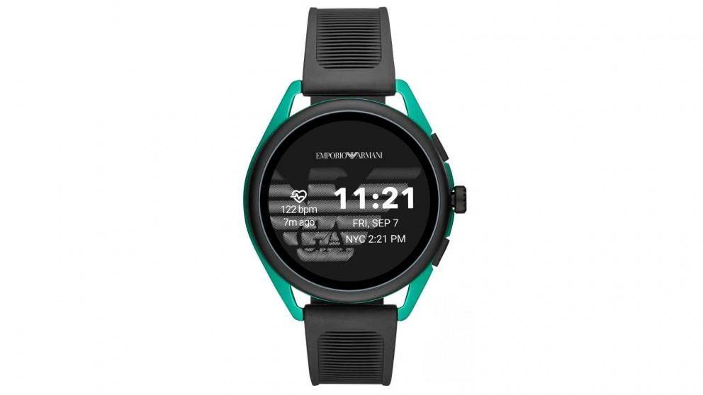 Emporio Armani Connected Matteo Mens Smartwatch – Green
