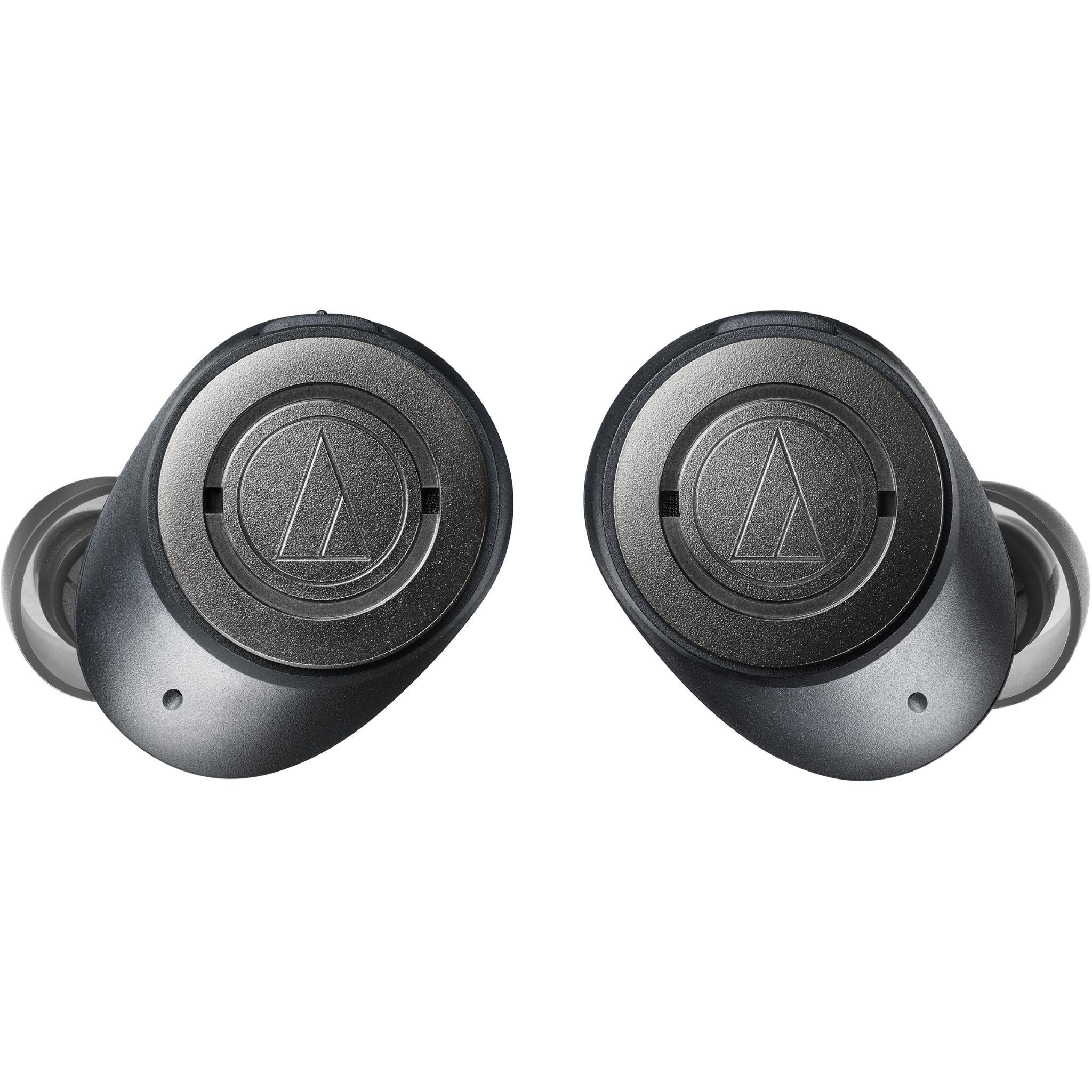 Audio Technica ATH-ANC300TW True Wireless Solid Bass In-ear Headphones (Black)