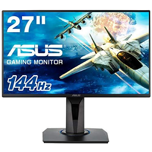 ASUS VG278Q 27inch Full HD Gaming Monitor, 1ms, 144Hz, G-SYNC Compatible, Adaptive-Sync