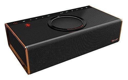 Creative iRoar Intelligent Bluetooth Wireless Speaker,Black,70SB163000001