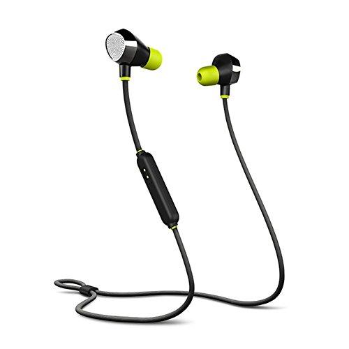 OKCSC i8 Waterproof Bluetooth in-Ear Earbuds,Sports Wireless Bluetooth Earphone-CVC6.0 Noise Reduction with HD Mic,Stereo Sound Headphone for Sports,Gym,Running(Black)