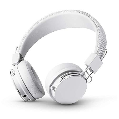 URBANEARS Plattan II Bluetooth Headphones, Wireless On-Ear Headphones, with 30+ Hours of Cord Free Playtime, Intuitive Control Knob and Convenient, Collapsible Design, True White