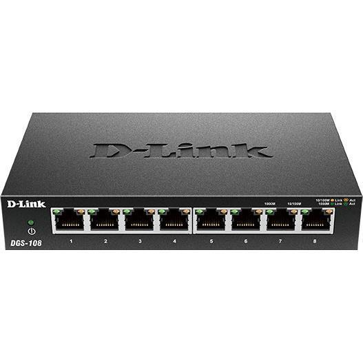 D-Link 8-Port Gigabit Desktop Switch (Metal Housing)