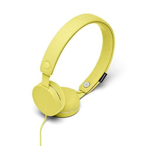 URBANEARS Humlan Wired On-Ear Headphones, with Machine Washable Headband, Tangle-Resistant Cord, Built-in Microphone and Remote and Instant Music Sharing, Chick