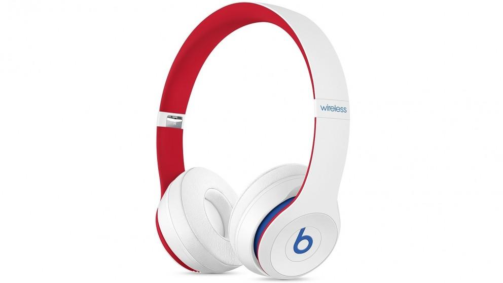 Beats Club Collection Solo3 Wireless On-Ear Headphones – Club White