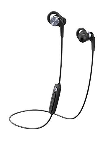 1MORE bluetooth earphones, wireless sport headphones with AAC tec, IPX6 sweatproof and waterproof, 9h long playtime, lightweight durable for workout