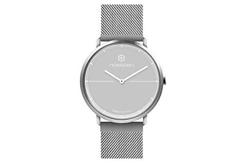 NOERDEN PNW-0501-EU LIFE2+ – Milanese – Hybrid Smart Watch – 38mm,Grey