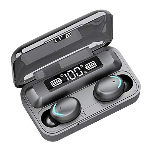 Wireless Earbuds, TWS Bluetooth 5.0 Headphones with LED Battery Display Charging Case, True Wireless HD Stereo Sound Earphones in-Ear Touch Bluetooth Headset