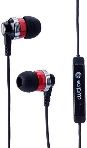 SonicGear A EarPump Twirl Black/Ruby in-Ear Headphones with Mic and Answer Function, 100003769
