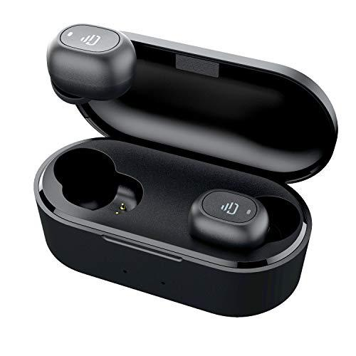 True Wireless Bluetooth 5.0 in-Ear Headphones, HiFi Stereo Sound 30 Hours Playtime with Microphone