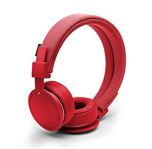 Urbanears Plattan ADV Wireless On-Ear,  Bluetooth Headphones with Microphone and Remote, Tomato