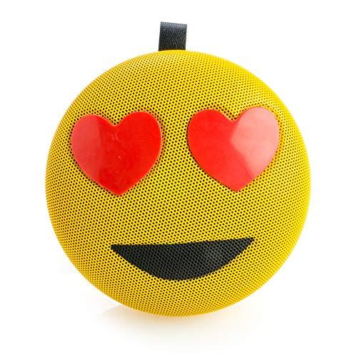 MDI Australia Love Kool Face Mesh Speaker, Yellow