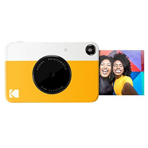 Kodak Photomatic Camera Instant Print Kodak Printomatic Digital Instant Print Camera, Yellow (RODOMATICYL)