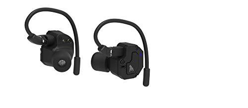 KONG-X KX-980TW PRO Wireless earbuds Dual Drivers Titanium Film + BA HiFi Bass Hybrid Technology Bluetooth Headphones with Earhook and 700mAh Charging case, in-Ear IPX5 & APT-X Sport earphones Built with Mic