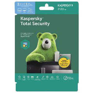 Kaspersky Total Security 3 Device 2 Year Download