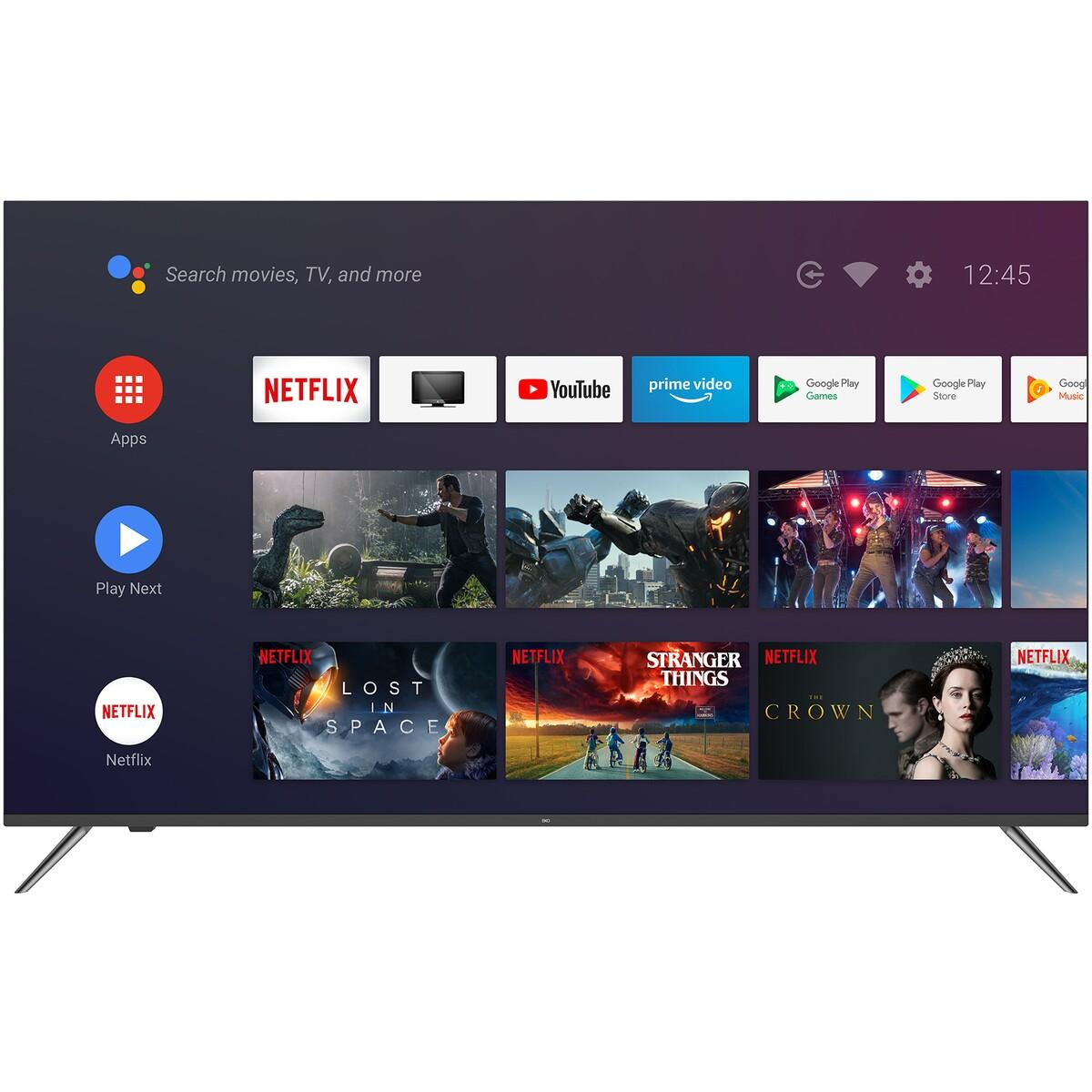 EKO 75″ Frameless 4K Ultra HD Android TV with Google Assistant
