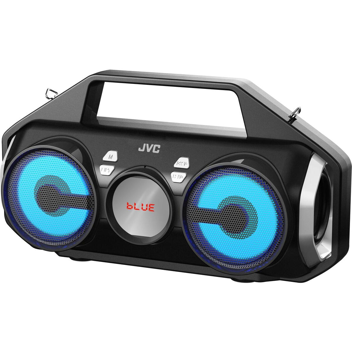 JVC Portable Bluetooth Speaker with FM Radio