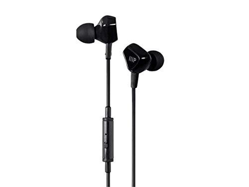 Monoprice Monoprice Triple Driver Earbuds Headphones with in-line Mic and 1-Button Control, (118516)