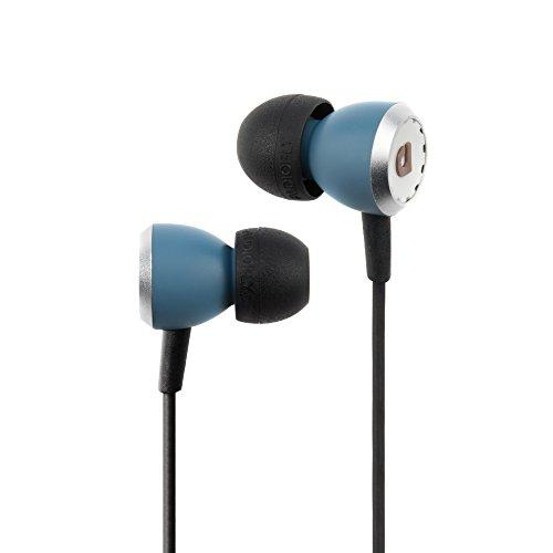 Audio Fly AF33C Wired In-Ear Headphones, With Microphone and Volume Control, Kingswood Blue