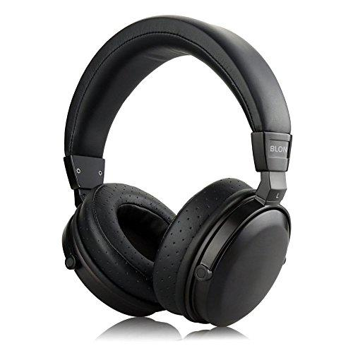 OKCSC M7 Over Ear HiFi Headphone Dynamic Hybrid Big Wooden On Ear Earphones Deep Bass Big Headphone with Detachable Cable for Computer, Laptop, iPhone, Samsung, LG