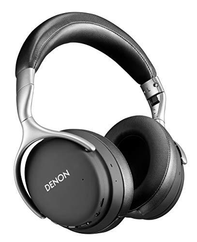 Denon AH-GC30 Premium Wireless Noise-Cancelling Headphones – Hi-Res Audio Quality   Up to 20 hours of Bluetooth and Noise Cancelling   Designed for Comfort   Battery-saving Auto-Standby Mode   White