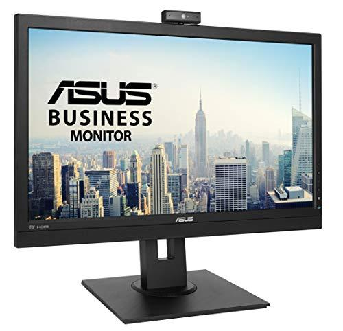 ASUS BE24DQLB 23.8 inch Full HD Video Conferencing Monitor, IPS, Full HD Webcam, Mic Array, Stereo Speakers, Mini-PC Mount Kit, Ergonomic Design