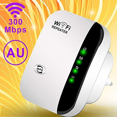 300Mbps WiFi Range Extender Signal Booster Repeater, Add Coverage up to 1200 sq.ft,Extend 2.4GHz Wi-Fi Signal Range,Support AP/Repeater Mode,Easy Setup