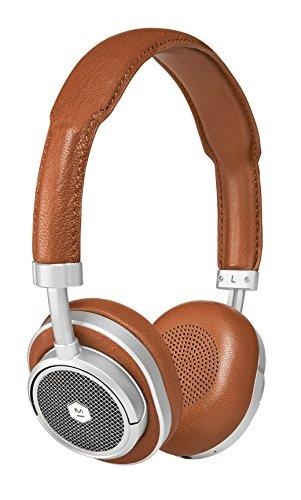 Master & Dynamic MW50 Wireless Bluetooth Headphones with Premium Leather, Superior Sound Quality and Highest Level of Design, Brown/Silver