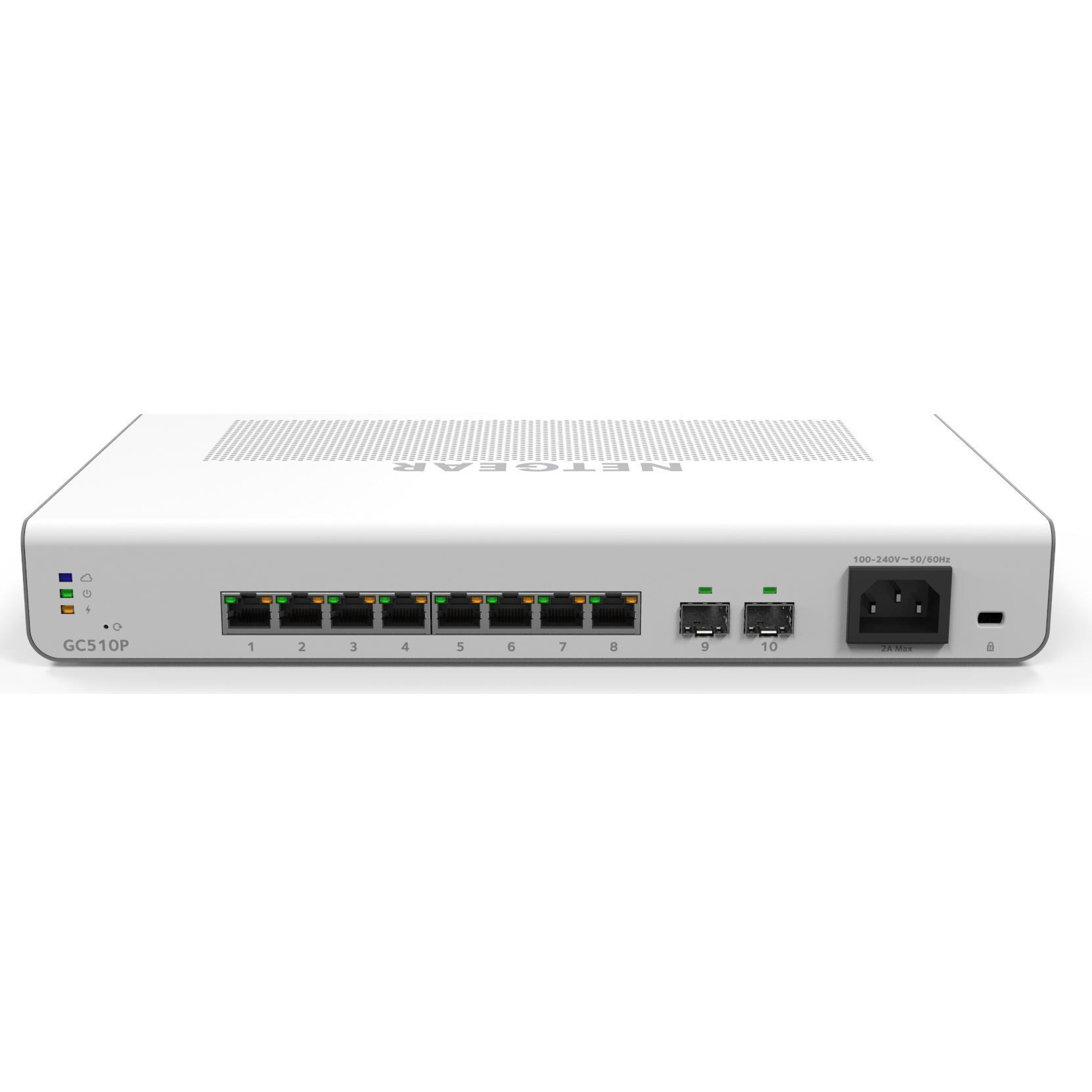 Netgear GC510 Insight Managed 8-Port Switch (PoE+)
