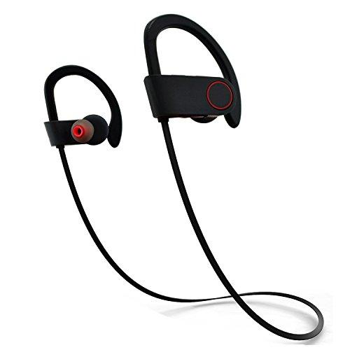 Wireless Headphones, Aokon P50000 Sweatproof Sports Earphones – Noise Canceling HD Stereo Headset with Microphone for Running & Workouts – Compatible with Apple iPhones Tablets Android Devices