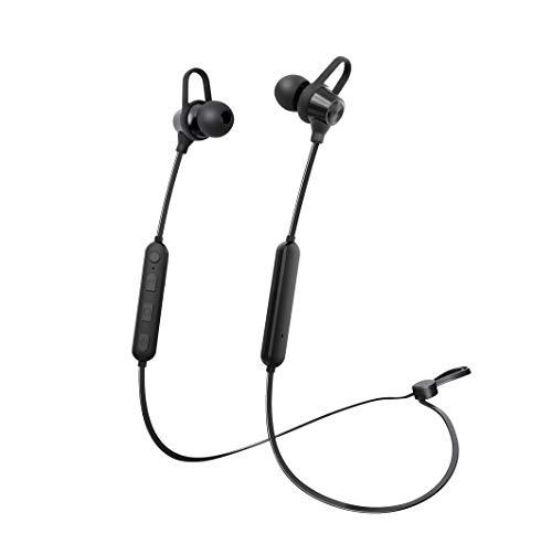 Brooklyn BE3 in-Ear Bluetooth Earphones with Push to Talk Voice Assistance, Clear and Crisp Audio, 5 Hours Playtime
