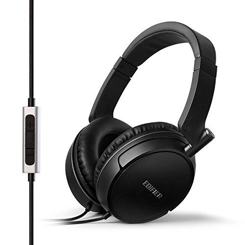 Edifier H840 Audiophile Over-The-Ear Headphones – Hi-Fi Over-Ear Noise-Isolating Closed Monitor Music Listening Stereo Headphone (with Microphone, Black)