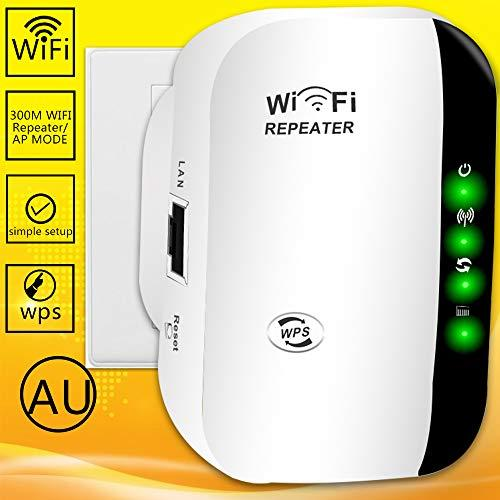 WiFi Extender?2.4GHz 300Mbps Signal Booster Long Range up to 1500 Sq.ft and 15 Devices,WiFi Range Extender | WiFi Booster to Extend Range of WiFi Internet Connection