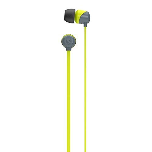 Skullcandy SCS2DUFZ-385 Jib in-Ear Headphone Without mic(Lime/Gray)