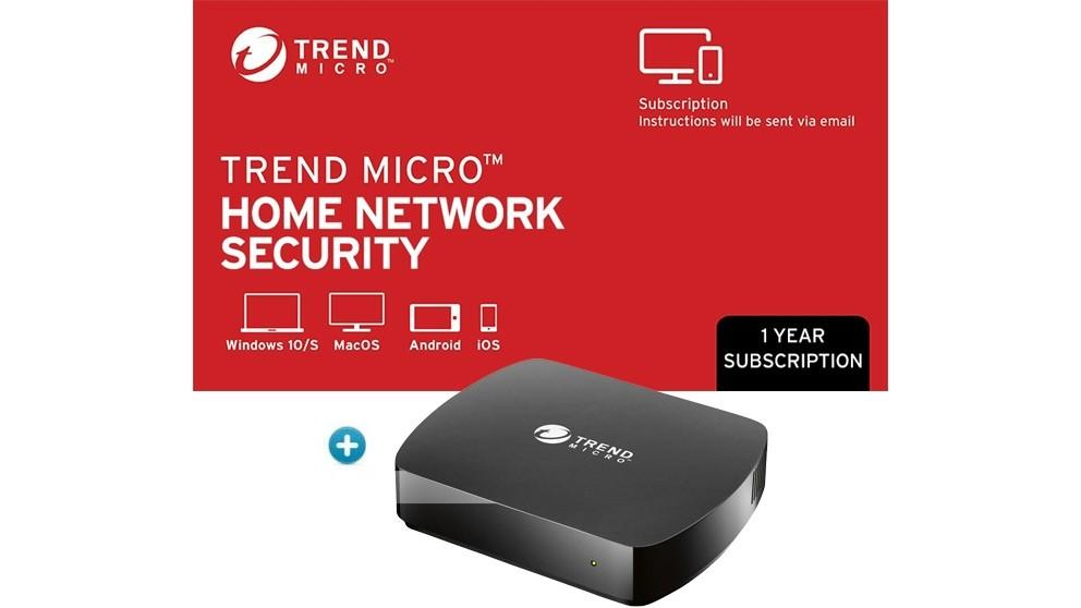 Trend Micro Home Network Security with 1 Year Subscription