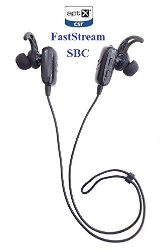 KOKKIA Marathons_3codecs: Bluetooth Stereo Headset with 3 codecs (SBC, aptX, FastStream). Perfect for Bluetooth iPhones,iPads/iPods and Other Bluetooth Stereo Sources.