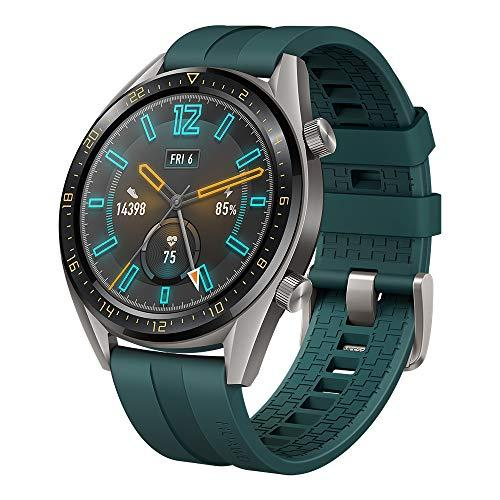 HUAWEI Watch GT Active Smartwatch with 1.39″ AMOLED Touchscreen, 2-Week Battery Life, 24/7 Continuous Heart Rate Tracking, Multiple Outdoor and Indoor Activities, 5ATM Waterproof, Dark Green